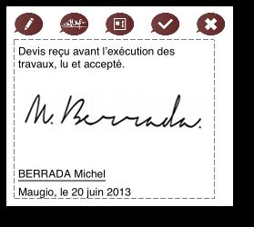 Vos devis signés directement par vos clients sur votre tablette avec l'appli dux-facti sur ipad.